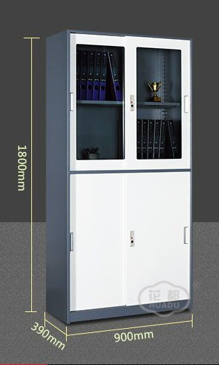 Tủ tài liệu Sliding Door Filing Cabinet with Narrow Side - HUADU - HDY-S-B04