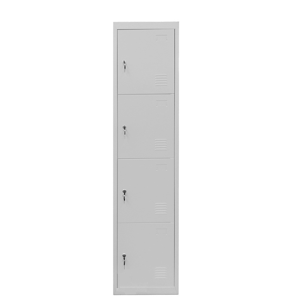 Tủ tài liệu 4 Doors Locker with Narrow Side Cabinet - HUADU - HDG-Z04