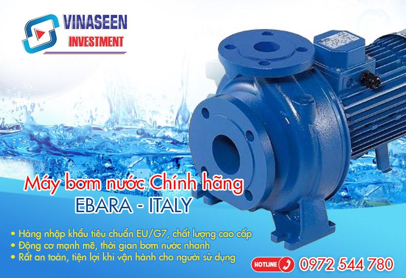 máy bơm nước công nghiệp ebara