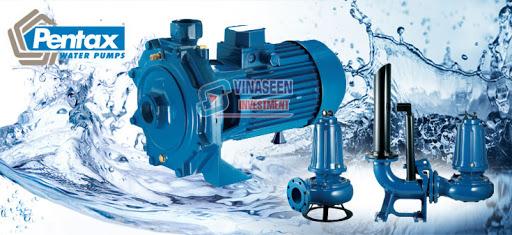 Máy bơm nước công nghiệp ly tâm trục ngang PENTAX